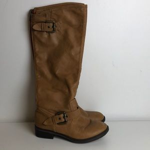 Gently used Fabulous tan knee high boots